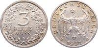 3 Reichsmark 1932  F Weimarer Republik Kursmünzen 1918-1933. min. Randf... 485,00 EUR kostenloser Versand