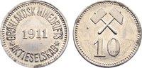 10 Öre 1 1911 Grönland Private Münzen und Zeichen. am Rand korrodiert, ... 55,00 EUR  zzgl. 3,50 EUR Versand