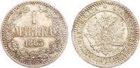 1 Markka 1865 Finnland Alexander II. von Rußland 1855-1881. fast Stempe... 475,00 EUR kostenloser Versand
