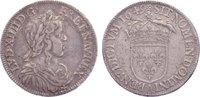 1/2 Écu à la mèche longue 164 1649  A Frankreich Ludwig XIV. 1643-1715.... 130,00 EUR  zzgl. 3,50 EUR Versand