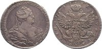 1/2 Rubel 1737 Russland Anna Ivanovna 1730-1740. kl. Schrötlingsfehler,... 675,00 EUR kostenloser Versand