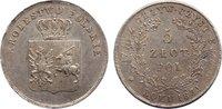 5 Zlote 1831  KG Polen Polnischer Freiheitskampf 1831. leicht justiert,... 595,00 EUR kostenloser Versand