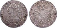 1/5 Écu 1 1786  R Frankreich Ludwig XVI. 1774-1793. justiert, sehr schö... 80,00 EUR  zzgl. 3,50 EUR Versand