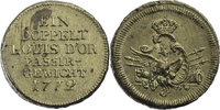 Gewicht zu 1 Louis d´Or 1772 Preussen Preussisches Messingpassiergewich... 80,00 EUR  zzgl. 5,00 EUR Versand