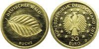 """20 Euro 2011 Deutschland Bundesrepublik """"Buche"""" D (München) PP  250,00 EUR kostenloser Versand"""