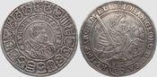 Reichstaler 1614 Sachsen Johann Georg + Au...