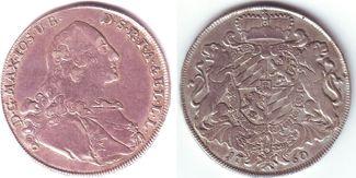 Taler 1760 Bayern Wappentaler - Maximilian...
