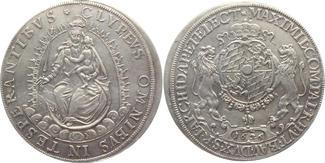 Taler 1626 Bayern Madonnentaler - Kurfürst...