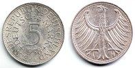 5 Mark 1958 G Deutschland Silberadler prägefrisch  69,90 EUR