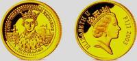10 Dollar 2003 Fiji Inseln 1/25 Unze Goldmünze -  König Richard II. PP  58,00 EUR  +  6,95 EUR shipping