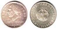 3 Mark 1929 F Weimarer Republik Lessing vz/st  67,00 EUR  +  6,95 EUR shipping