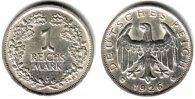 1 Mark 1926 J Weimar Kursmünze vz  149,90 EUR  +  9,95 EUR shipping