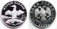 1 Rubel 2003 Russland 1/2 Unze Silbermünze - Zwergscharbe PP  54,90 EUR  +  6,95 EUR shipping