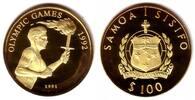 100 Tala 1991 Samoa Olympische Sommerspiele Barcelona 1992 - Fackelläuf... 279,90 EUR  +  9,95 EUR shipping
