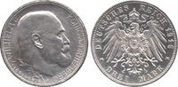 3 Mark 1916 F Württemberg 25 jährigiges Regierungsjubiläum - König Wilh... 8150,00 EUR  +  14,95 EUR shipping