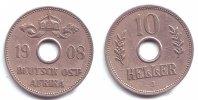 Deutsch-Ostafrika 10 Heller 10 Heller mit Loch