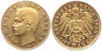 10 Mark 1898 D Bayern König Otto von Bayern (1896-1913) ss+  249,00 EUR