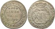 Sachsen 1/12 Taler Johann Georg IV. (1691 - 1694)