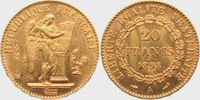 20 Francs 1898 A Frankreich Stehender Genius f.st  279,00 EUR