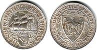 5 Mark 1927 A Weimar Bremerhaven f.st  498,00 EUR  +  9,95 EUR shipping