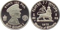 5 Birr 1972 Äthiopien 80. Geburtstag von Haile Selassie PP  28,00 EUR
