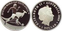 1 Dollar 2009 P Australien Fußball Weltmeisterschaft 2010 in Südafrika ... 39,00 EUR