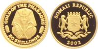 50 Shilling 2002 Somalia Goldene Totenmaske des Tutanchamun PP  59,00 EUR