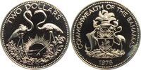 2 Dollar 1976 Bahamas Flamingos - Vögel PL  24,00 EUR
