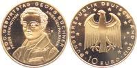 10 Euro 2013 Deutschland Gedenkprägung - Georg Büchner - vergoldet PP  14,95 EUR
