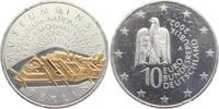 10 Euro 2002 Deutschland Gedenkprägung - Museumsinsel mit Goldapplikati... 19,95 EUR
