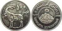 500 Dinars - Medaille 2006 Kurdistan Wildziege - Ziege - Tiere unc.  19,00 EUR