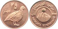 25 Dinars - Medaille 2006 Kurdistan Vögel unc. min. fl.  19,00 EUR