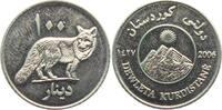 100 Dinars - Medaille 2006 Kurdistan Rotfuchs - Fuchs - Tiere unc.  19,00 EUR