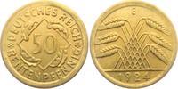 50 Rentenpfennig 1924 E Weimarer Republik 50 Rentenpfennig vz  23,00 EUR
