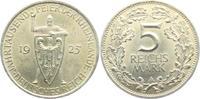 5 Mark 1925 A Weimarer Republik Schwurhand vz  94,00 EUR
