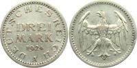 3 Mark 1924 A Weimarer Republik Drei Mark ss/vz  39,00 EUR