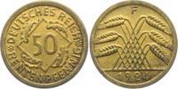 50 Rentenpfennig 1924 F Weimarer Republik Ährenbündel vz  14,00 EUR