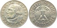2 Reichsmark 1933 J Drittes Reich Martin Luther ss  15,00 EUR