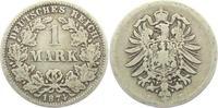 1 Mark 1874 E Kaiserreich 1 Mark - kleiner Adler s-ss  5,95 EUR