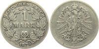 1 Mark 1874 G Kaiserreich 1 Mark - kleiner Adler ss  5,95 EUR