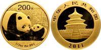 200 Yuan 2011 China Gold Panda st orginal eingeschweißt  798,00 EUR