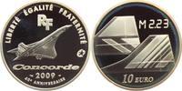 10 Euro 2009 Frankreich Flugzeuge - Concorde - Luftfahrt PP  39,00 EUR