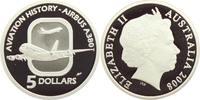 5 Dollars 2008 Australien Flugzeuge - Luftfahrt - Airbus A 380 PP  49,00 EUR