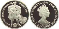 2 Pounds 1996 Falkland Inseln Heinrich VIII. Tudor (1491 - 1547) PP  49,00 EUR