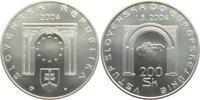 200 Kronen 2004 Slowakei EU-Beitritt st  19,00 EUR