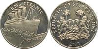 1 Dollar 2002 Sierra Leone RMS Titanic st  19,00 EUR