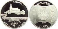 1 Lats 2003 Lettland Hansestätte PP  49,00 EUR