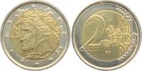 2 Euro 2002 Italien Dante Alighieri bankfrisch  3,95 EUR  +  3,95 EUR shipping
