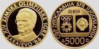 500 Dinara 1983 Jugoslawien Olympiade Sarajewo 1984 - Tito PP  329,00 EUR  +  9,95 EUR shipping