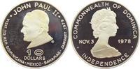 10 Dollar 1978 Dominica Papstbesuch - Papst Johannes Paul II. - Unabhän... 59,95 EUR  +  6,95 EUR shipping
